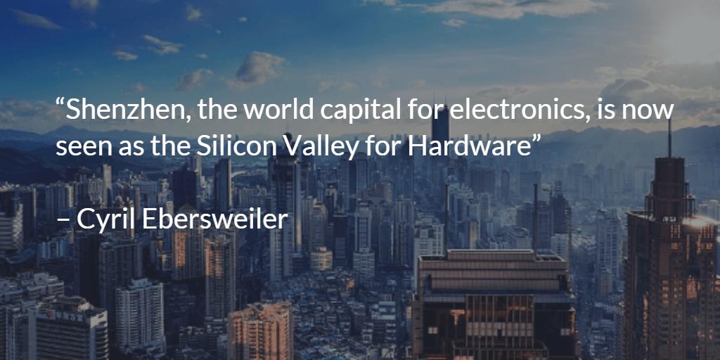 shenzhen chinese sillicon valley for hardware