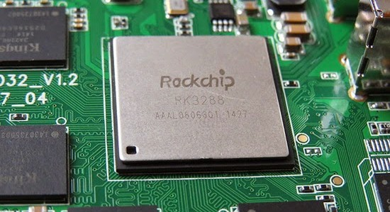 view of Intel-Rockchip chipset for android