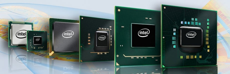 view of intel chipsets