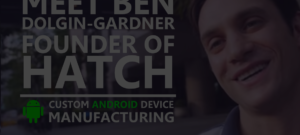 screenshot Interview ben dg of Hatch Android device