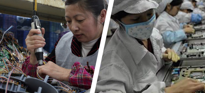 The Evolving Role of China's Electronics Factories
